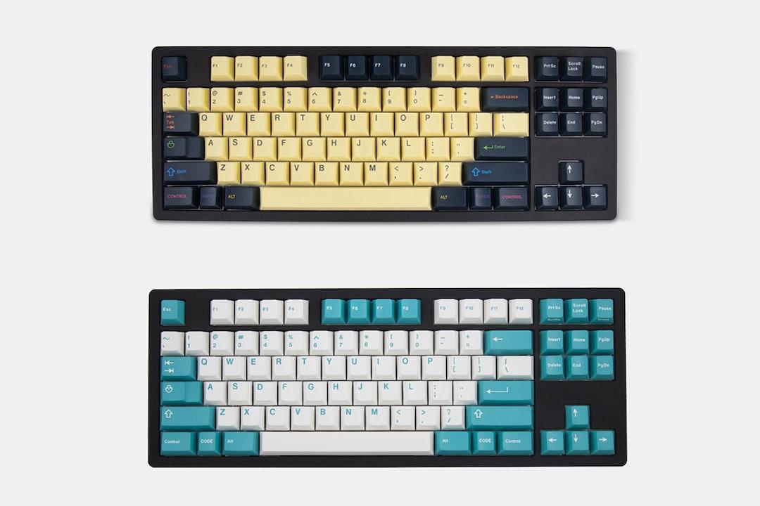 GMK Penumbra and Cyan Doubleshot ABS Keycap Set
