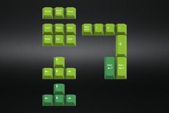GMK TA Royal Alpha Typewriter Keycap Set
