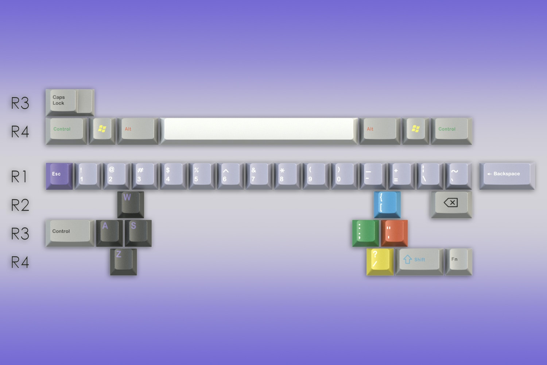 GMK SNES Keycap Set