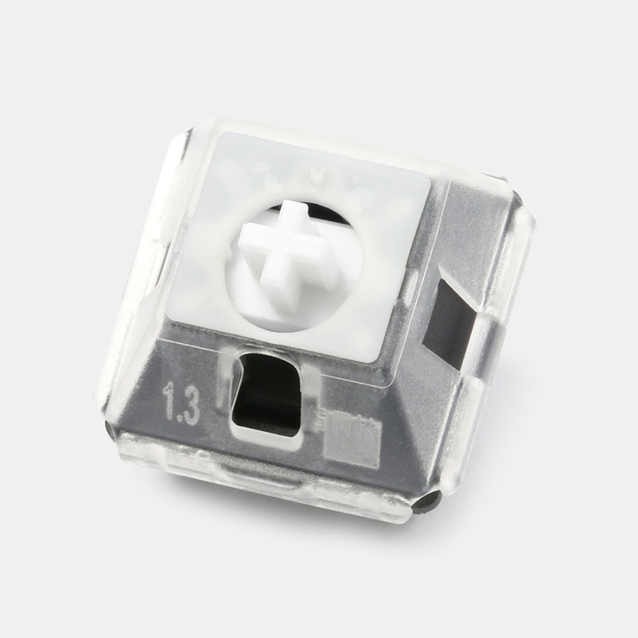 GMK QMX-Clip Sound-Dampening Brackets (110 Pieces)