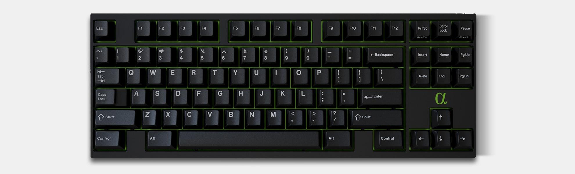 GMK White on Black Custom Keycap Set