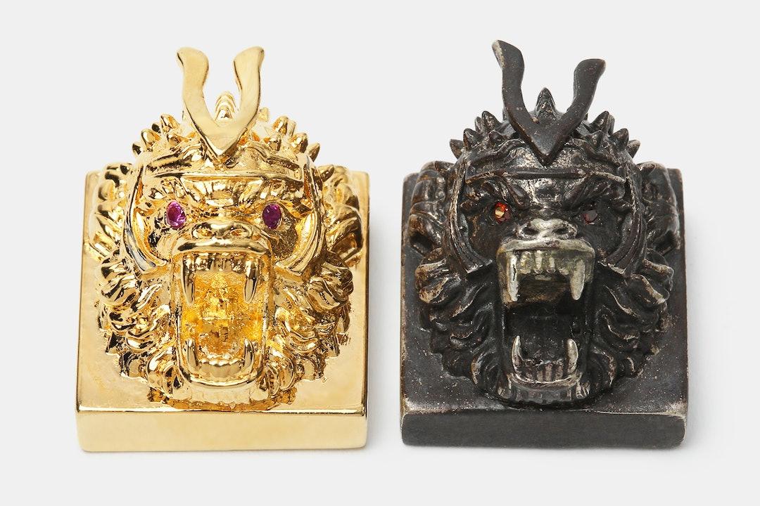 Golden Star Monkey King Metal Artisan Keycap