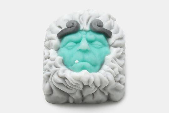 Golden Star Monkey King Reborn Artisan Keycap