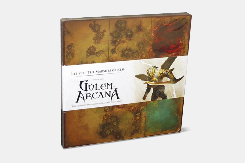 Golem Arcana Tile Set Expansion: The Marshes of Kesh