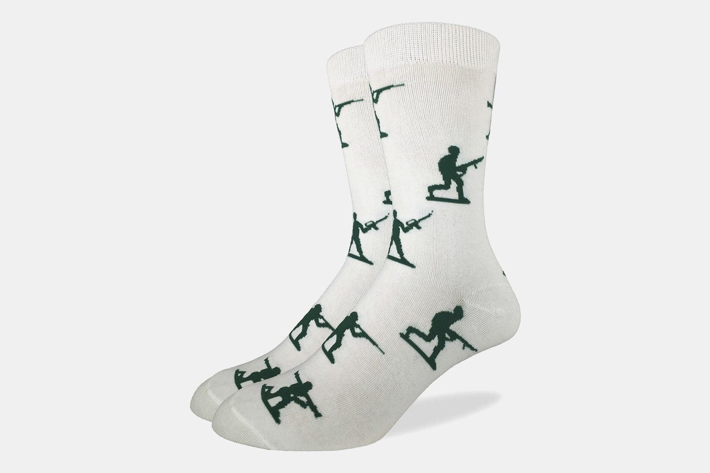 Toy Soldiers Crew Socks