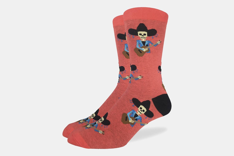 Mariachi Skeleton Crew Socks