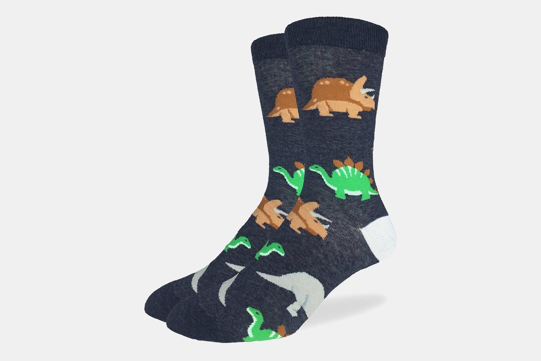 Dinosaur Crew Socks
