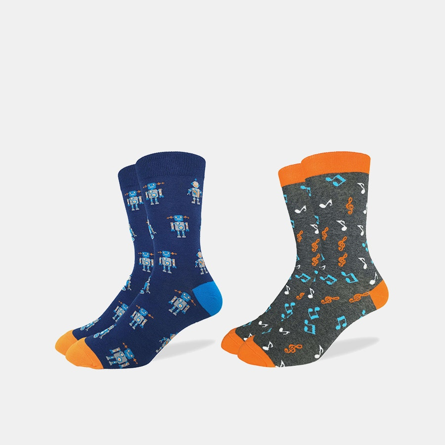 Good Luck Sock Graphic Socks (2-Pack)