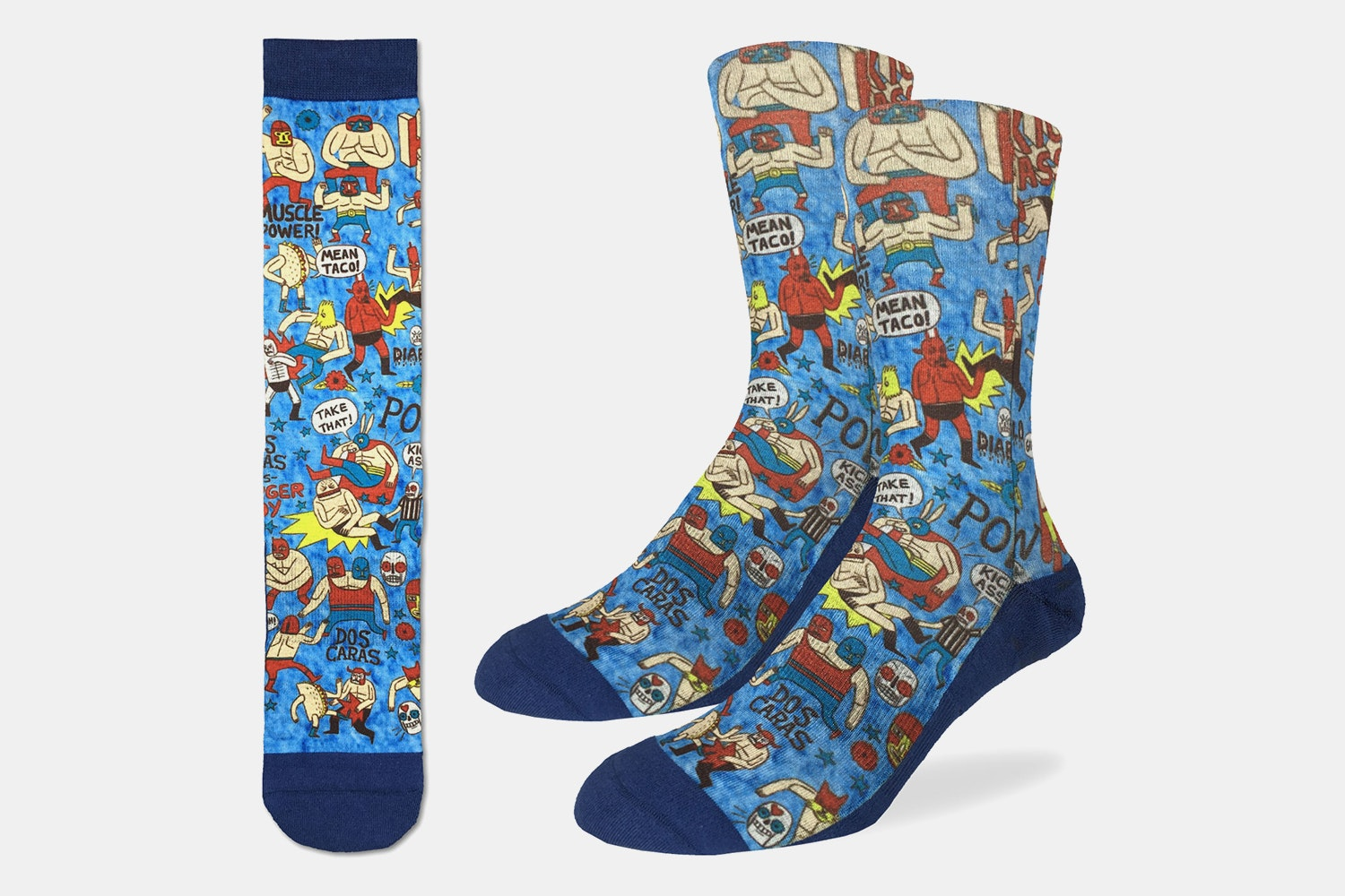 Lucha Libre Active Fit Socks