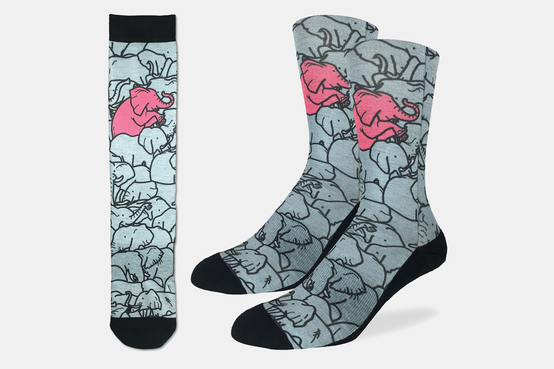 Elephants Moshing Active Fit Socks