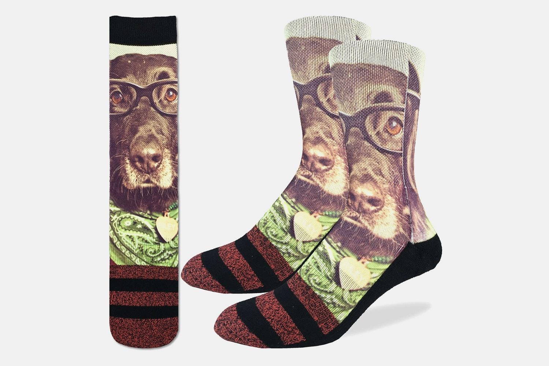 Hipster Dog Active Fit Socks