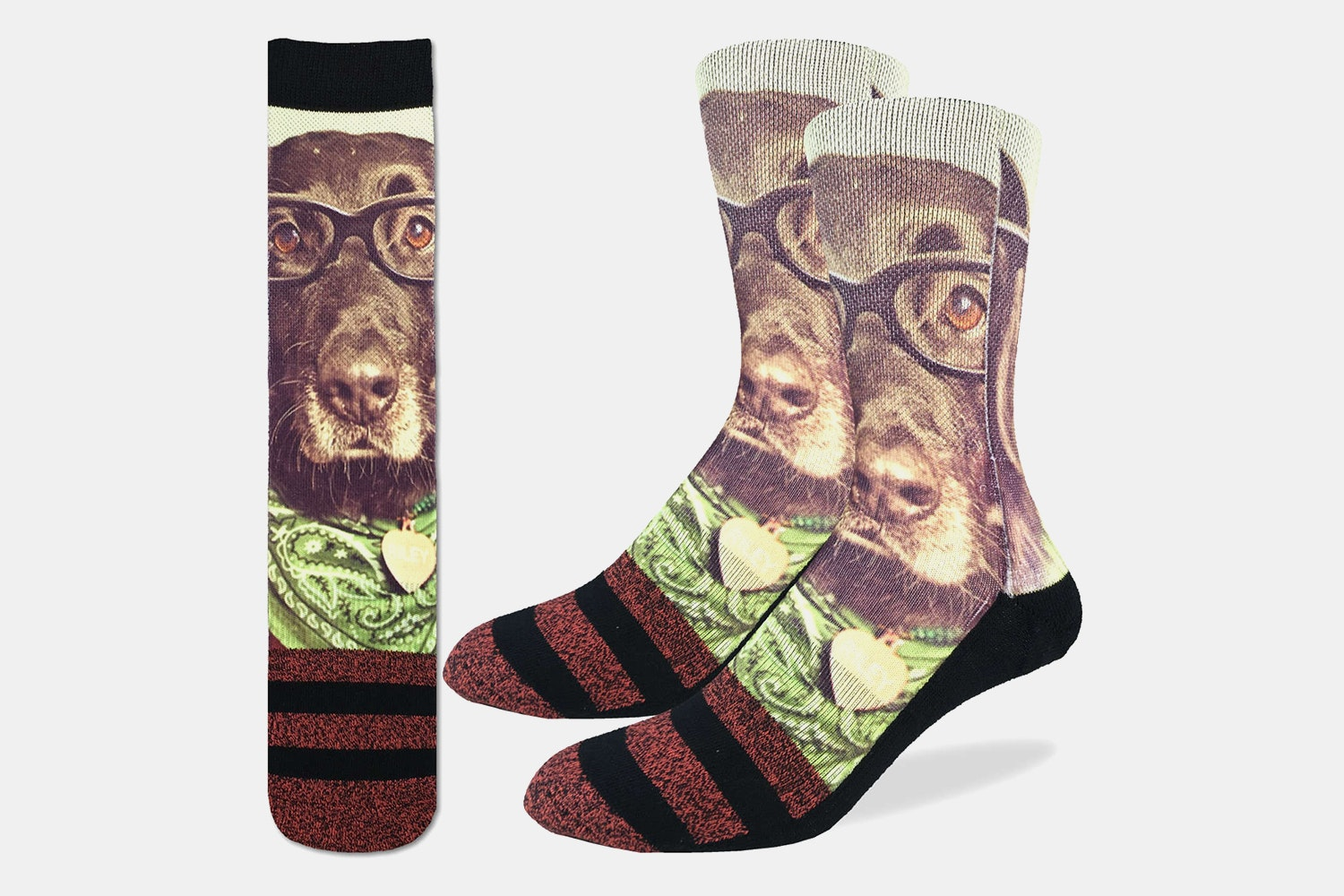 Hipster Dog Active Fit Socks