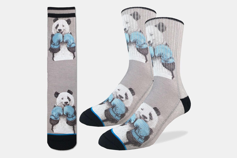 Boxing Pandas Active Fit Socks