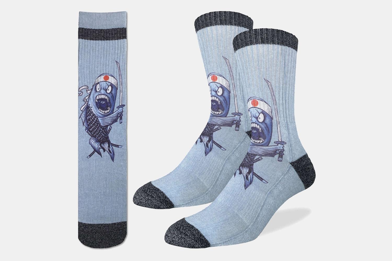 Samurai Sushi Active Fit Socks