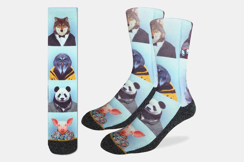 Dapper Animals Active Fit Socks