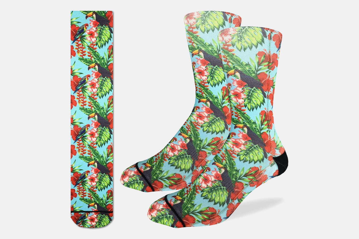 Rainforest Toucan Active Fit Socks