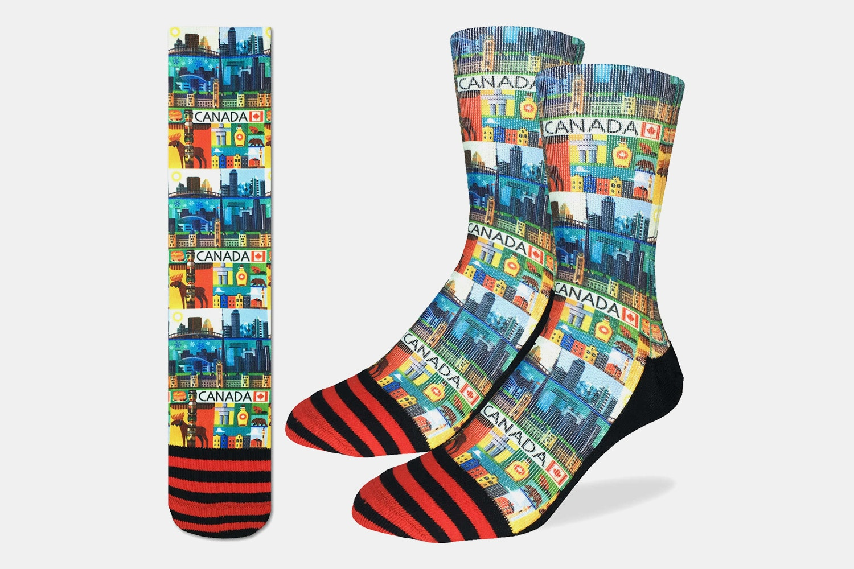 Canada Active Fit Socks