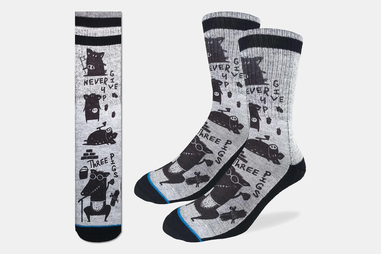 Three Little Pigs Active Fit Socks