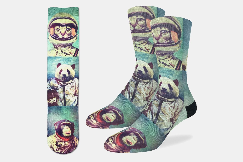 Animal Astronauts Active Fit Socks