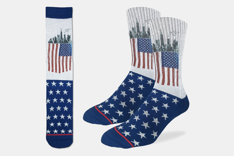 American Flag Active Fit Socks