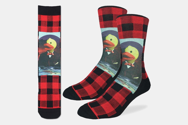 Dapper Rubber Ducks Active Fit Socks