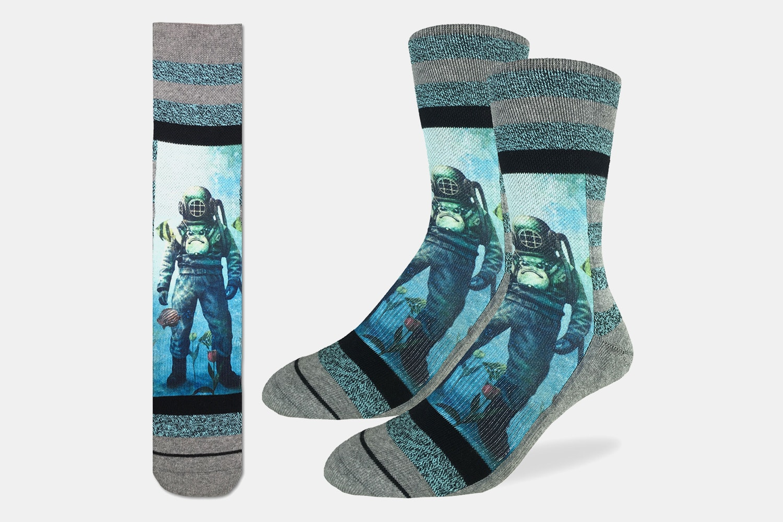 Scuba Diver Active Fit Socks