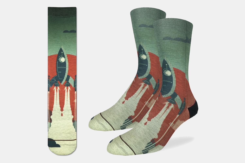 Blast Off Active Fit Socks