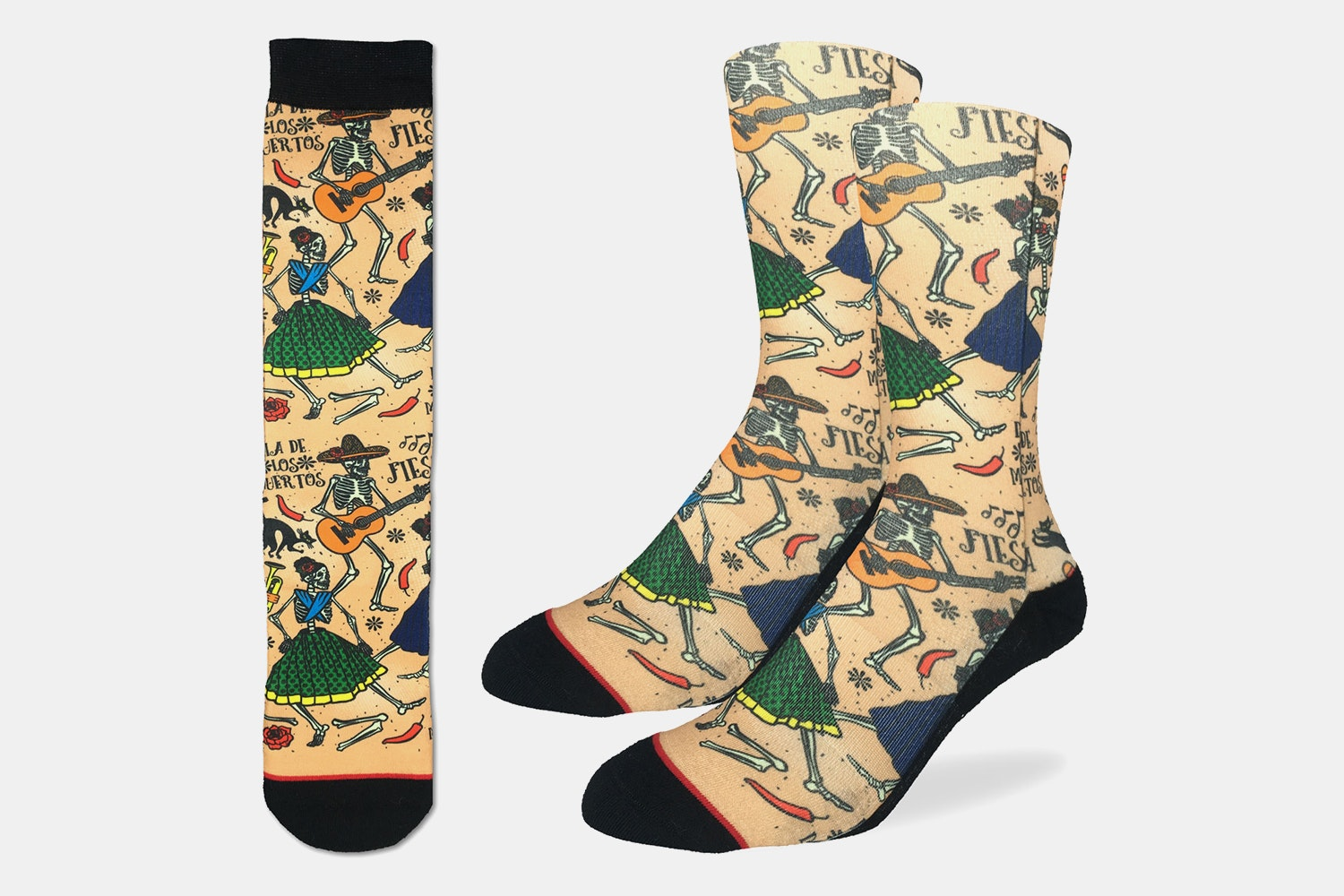 Day of The Dead Active Fit Socks