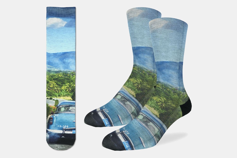 Road Trip Active Fit Socks