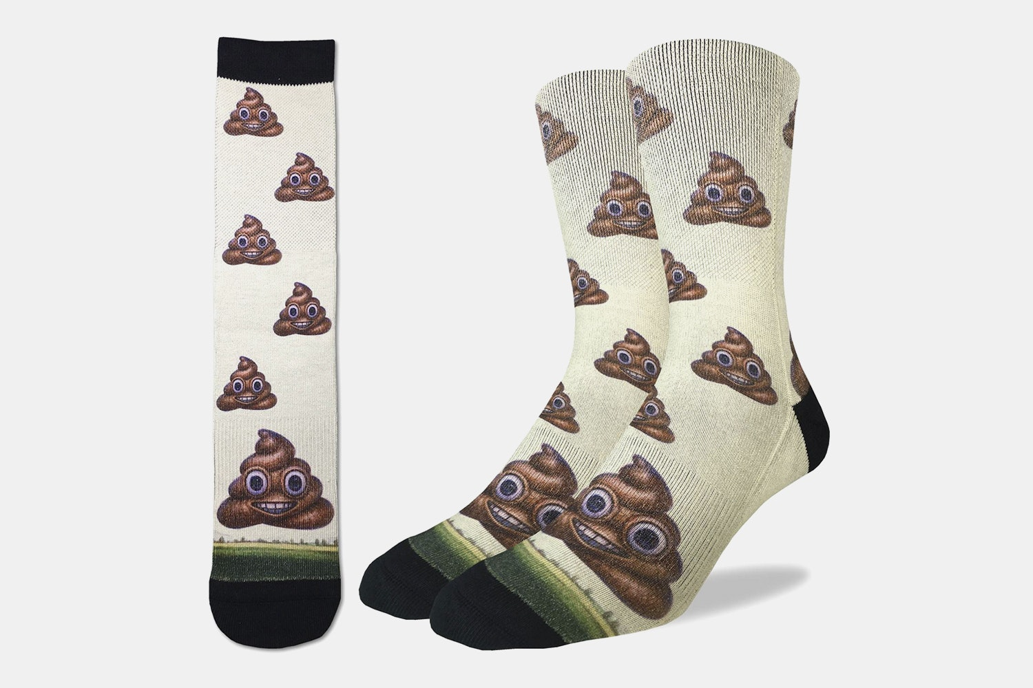 Good Luck Sock Sublimated Graphic Socks (3-Pack)