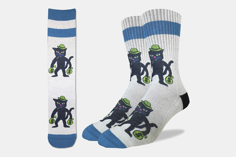 Cat Burglar Active Fit Socks