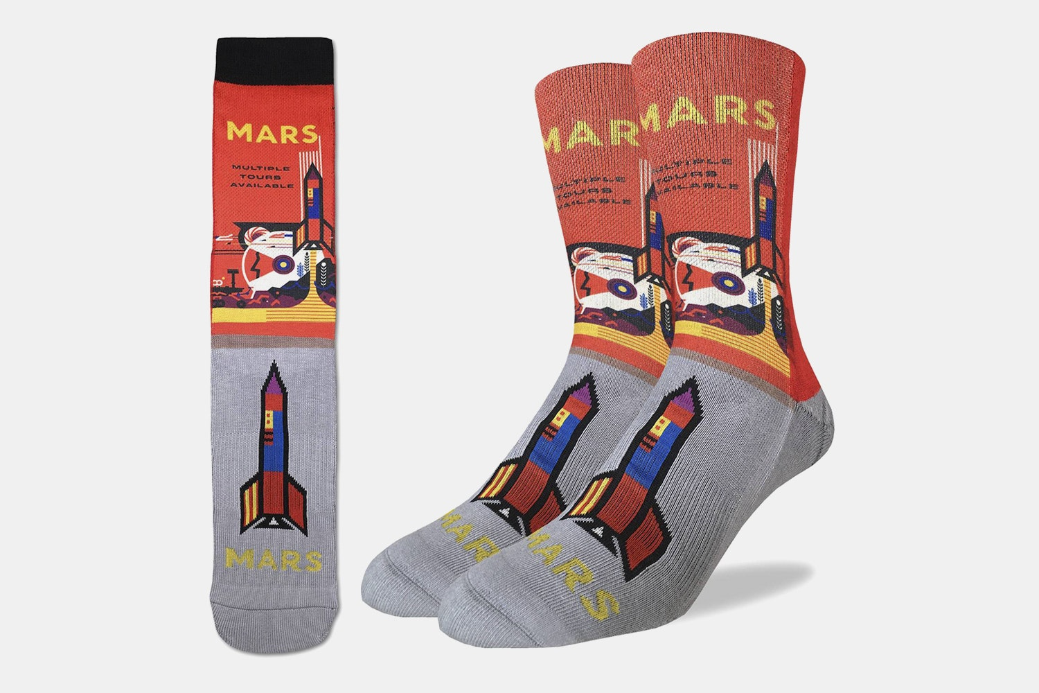 Mars or Bust Active Fit Socks