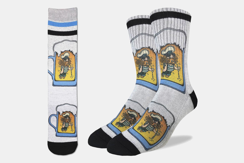 Drunk Captain Active Fit Socks