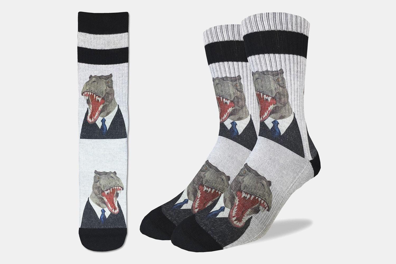 MR T Rex Active Fit Socks