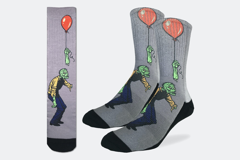 Sad Zombie Active Fit Socks