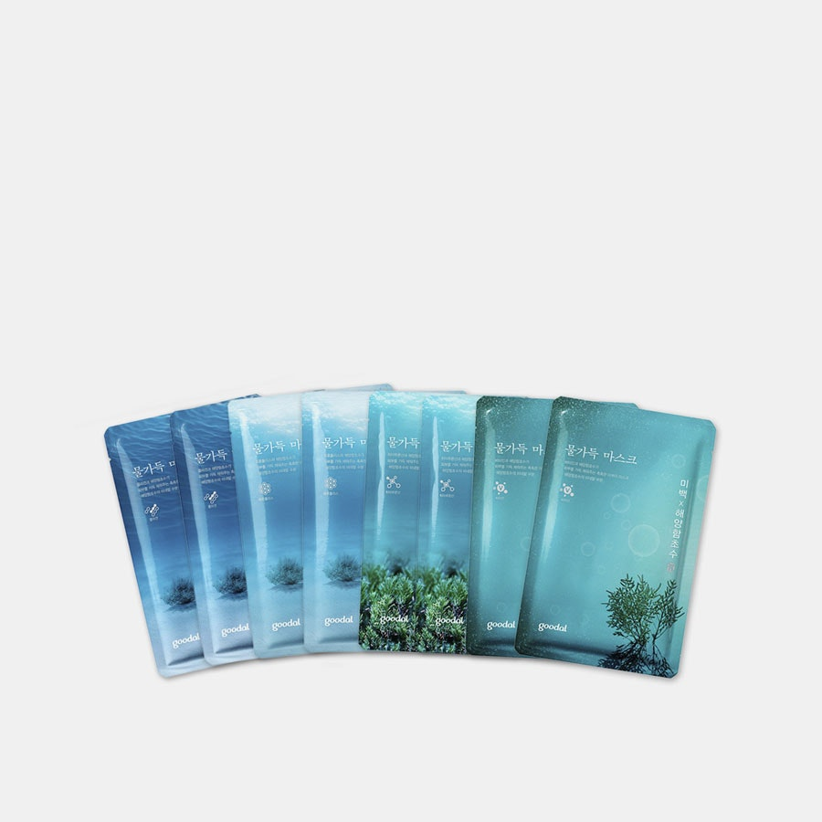 Goodal Water Full Mask Assorted Set (8 Sheets)