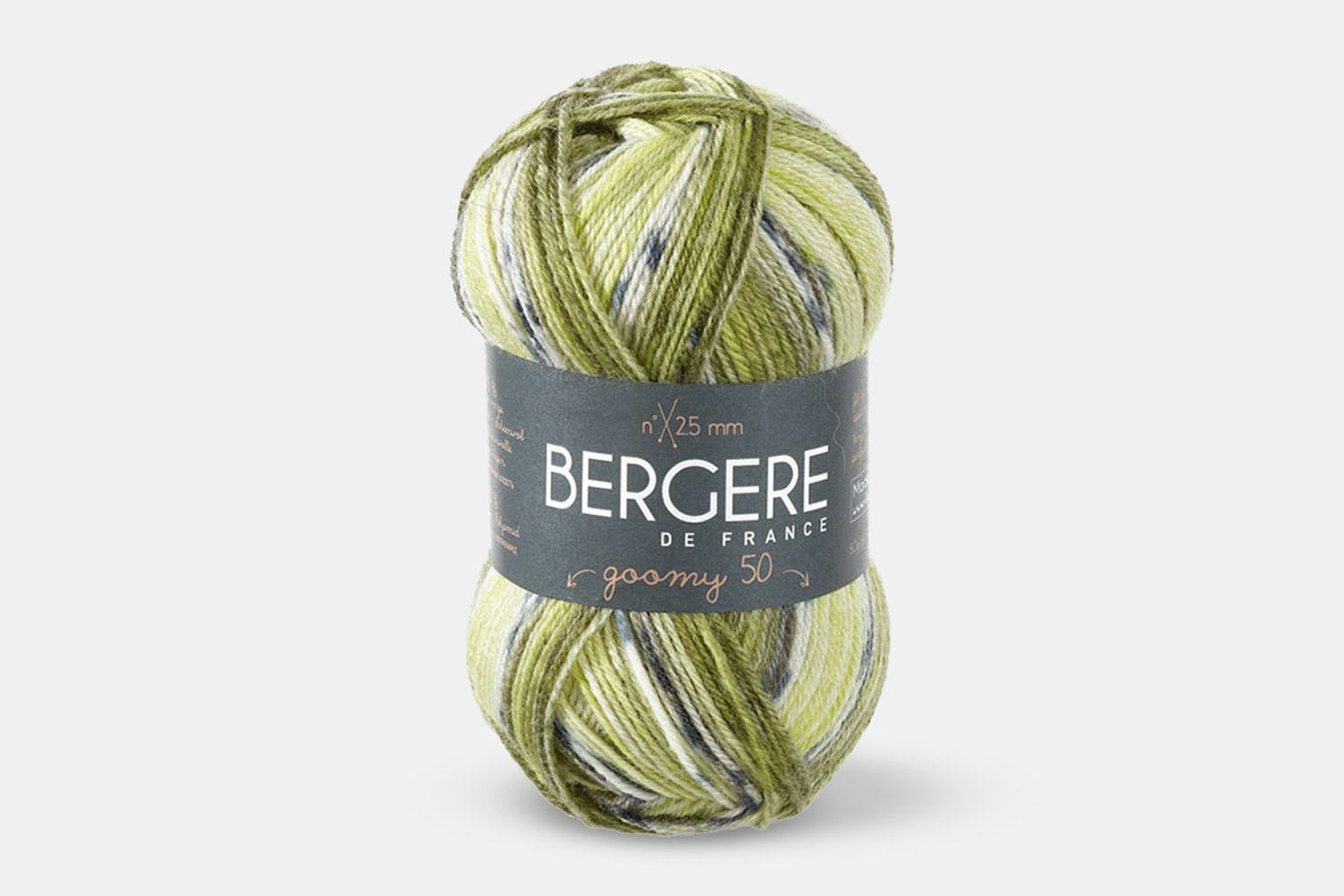 Goomy 50 Yarn by Bergere De France (2-Pack)