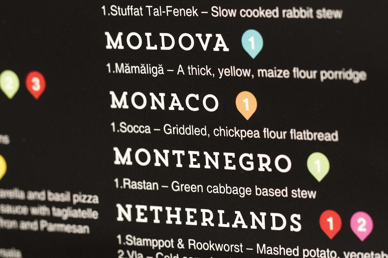 Luckies of London Gourmet Scratch Map