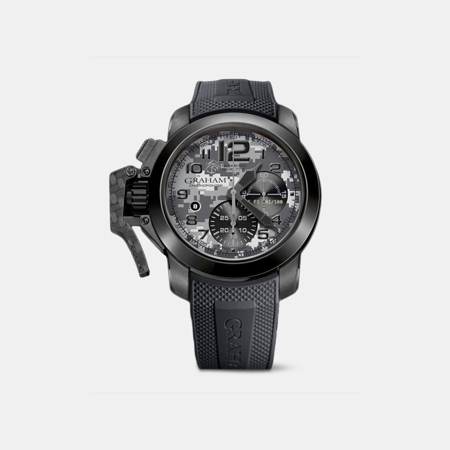 Graham Chronofighter Navy Seal Automatic Watch