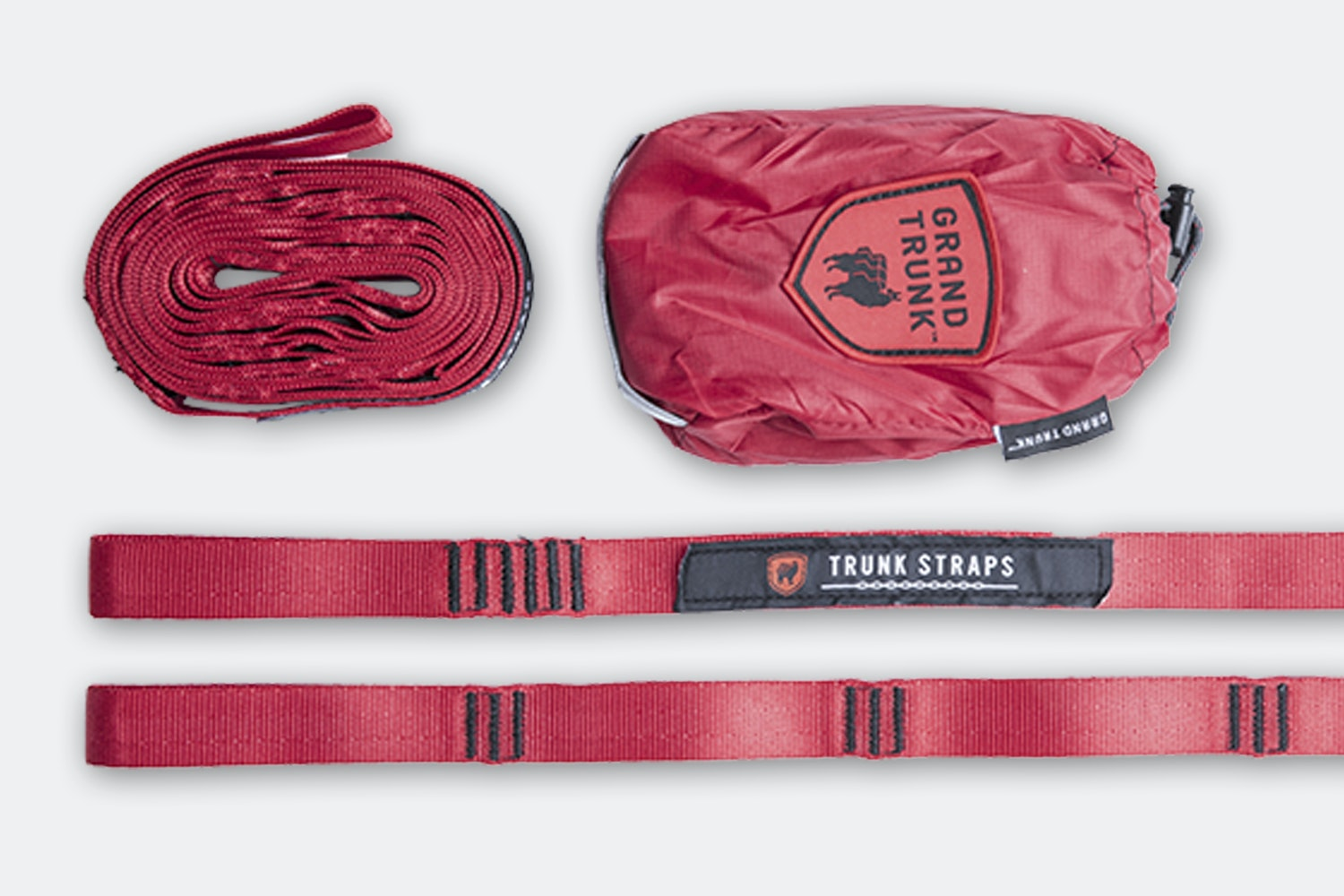 Trunk Straps – Red