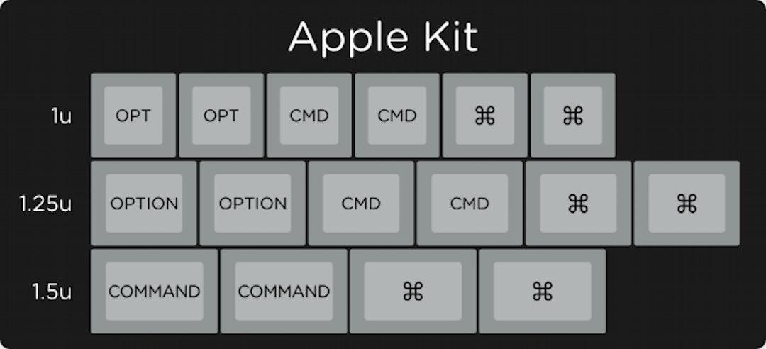 Granite Keycap Set