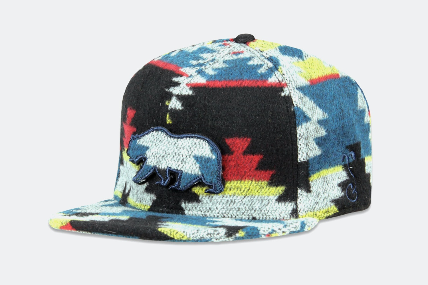 Grassroots Removable Bear Strapback Hat