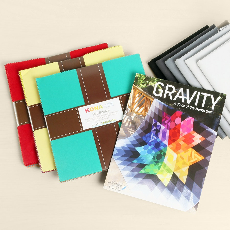 Gravity Quilt Kit Bundle