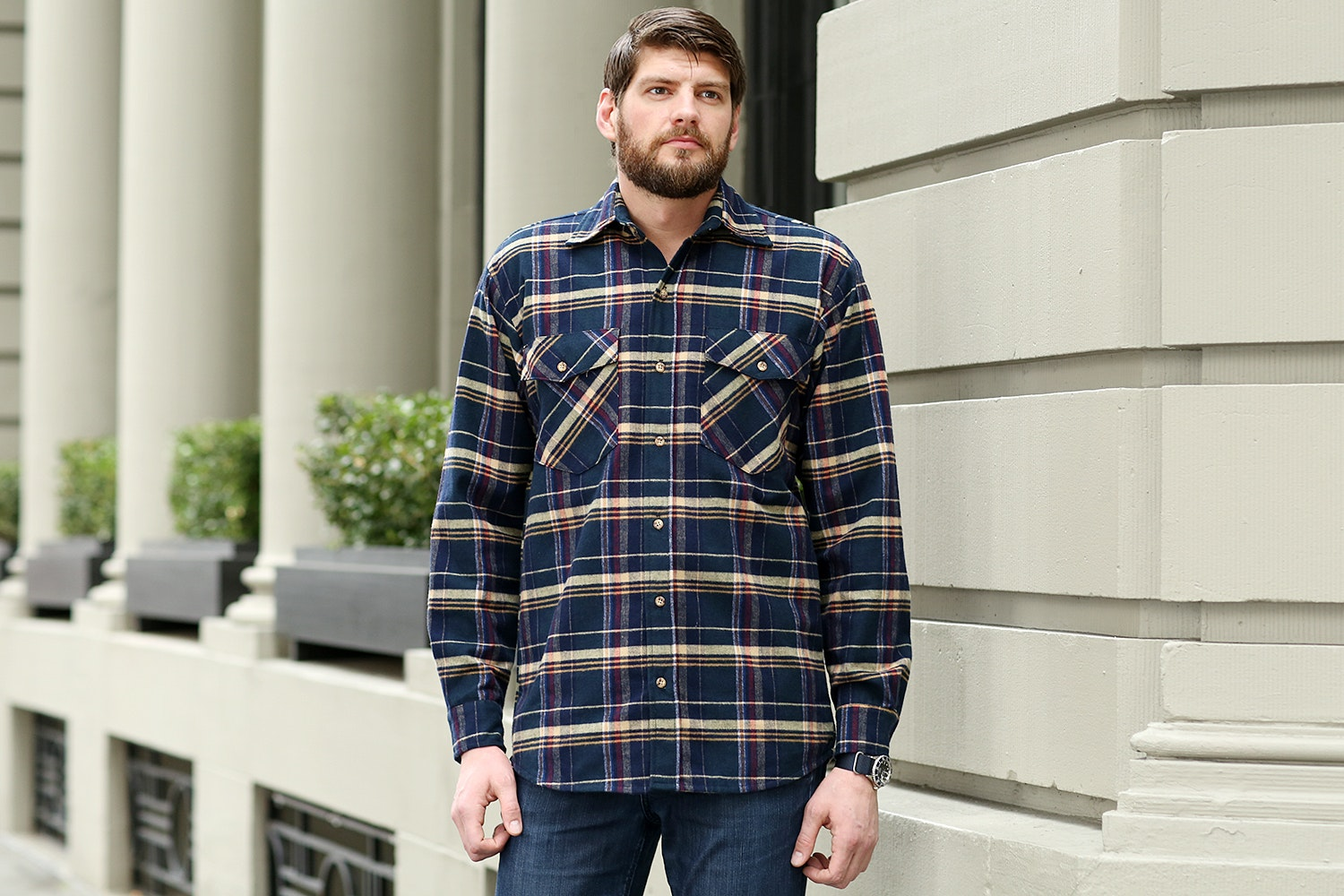 Green Mountain Flannel Shirts