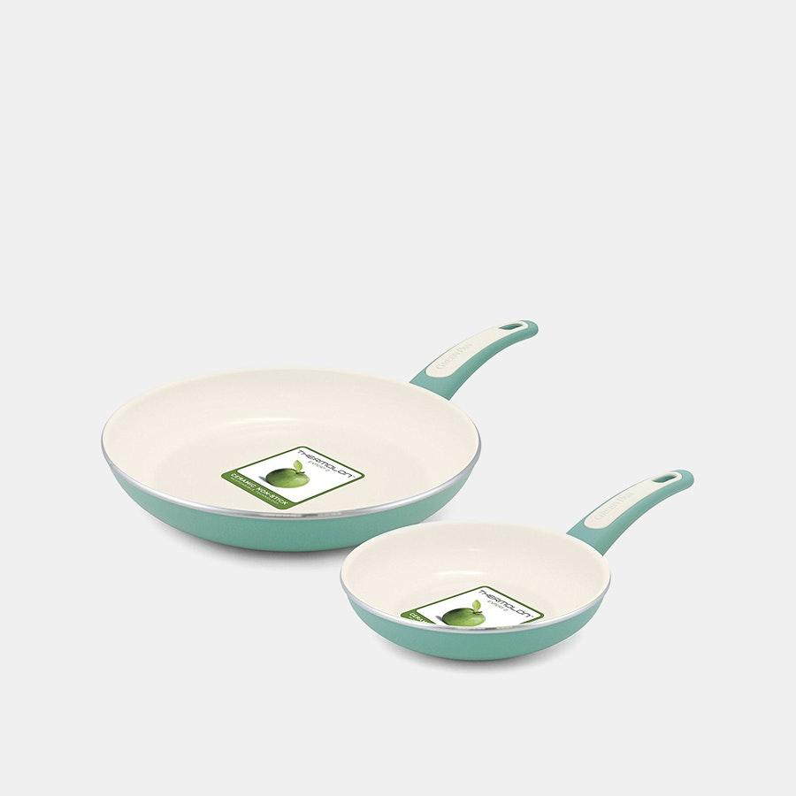GreenPan Focus Ceramic Nonstick Fry Pan Set