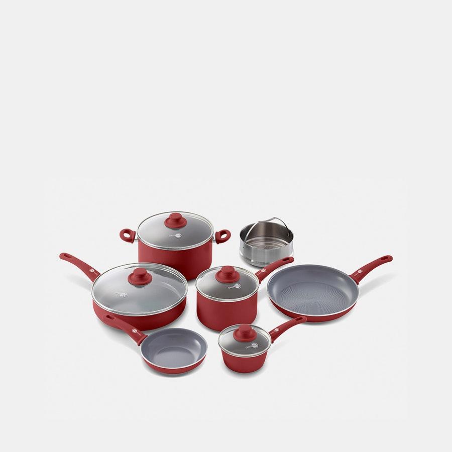 GreenPan Soft Grip Ceramic Nonstick 11-Piece Set