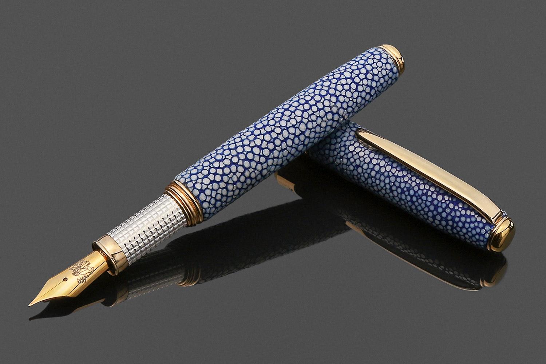Grifos Galuchat Fountain Pen