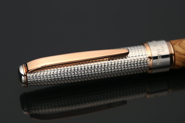 Grifos Mandragola Silver & Wood Fountain Pen