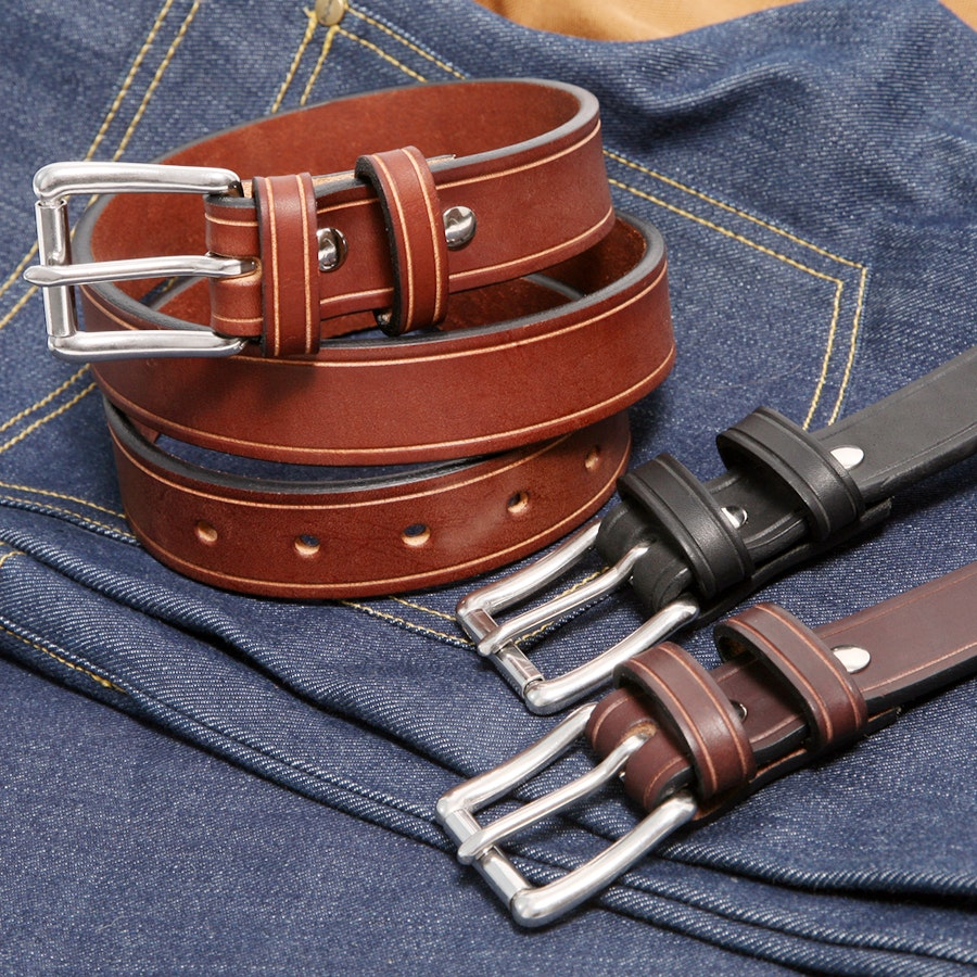"Orion 1.25"" Saddle Groove Belts"