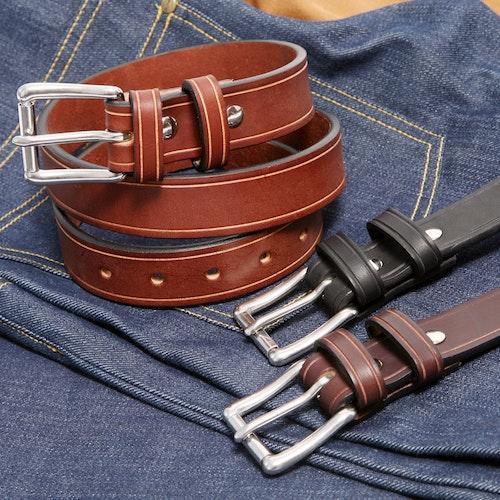 """0676462372d Orion 1.25"""" Saddle Groove Belts"""